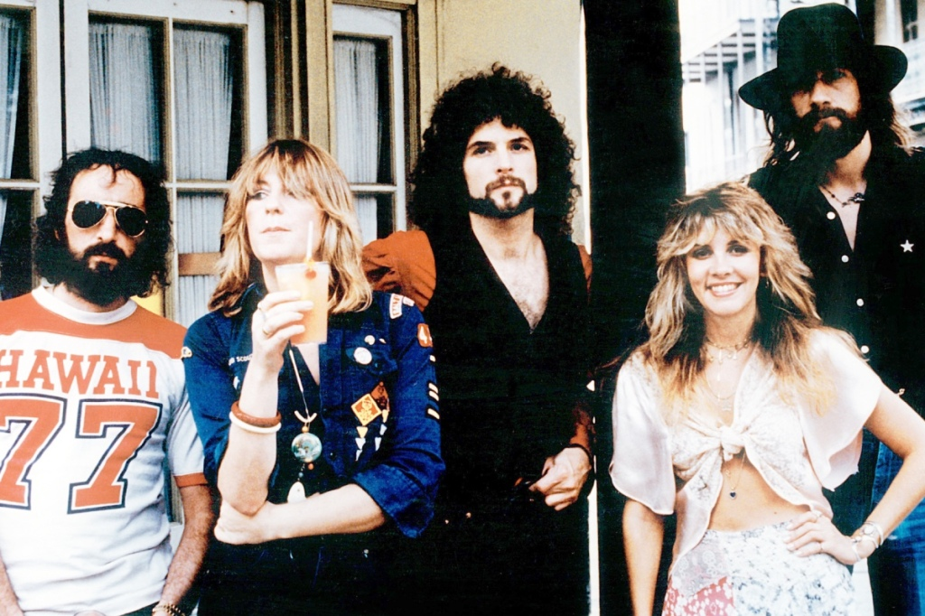 Fleetwood Mac band from the 1970s