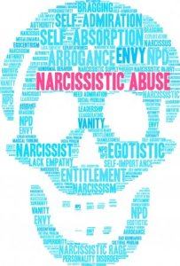 Narcissistic Abuse skull